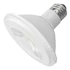 PAR30 10W Dimmable LED Bulb, Smooth, Short Neck, 2400K, 25 Degree