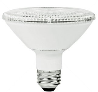 PAR30 10W Dimmable LED Bulb, Smooth, Short Neck, 2400K, 15 Degree
