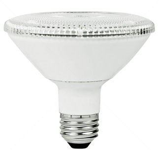 PAR30 10W Dimmable LED Bulb, Smooth, Short Neck, 3500K, 25 Degree