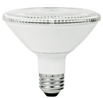 PAR30 10W Dimmable LED Bulb, Smooth, Short Neck, 4100K, 25 Degree