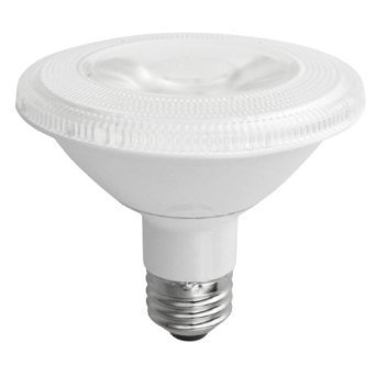 PAR30 10W Dimmable LED Bulb, Smooth, Short Neck, 4100K, 15 Degree