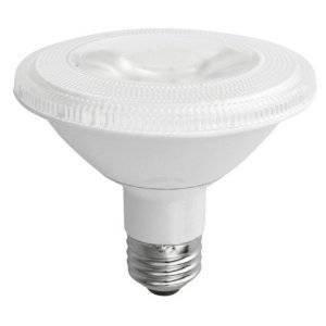 PAR30 10W Non-Dimmable LED Bulb, Smooth, Short Neck, Discrete, 3000K, 40 Degree