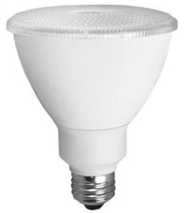 PAR30 12W Dimmable LED Bulb, Smooth, 3500K, 25 Degree