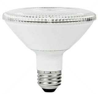 12W Non-Dimmable Smooth PAR30 Short Neck LED Bulb, 2700K, 15 Degree