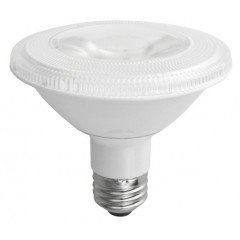 PAR30 12W Dimmable LED Bulb, Smooth, Short Neck, 3500K, 25 Degree