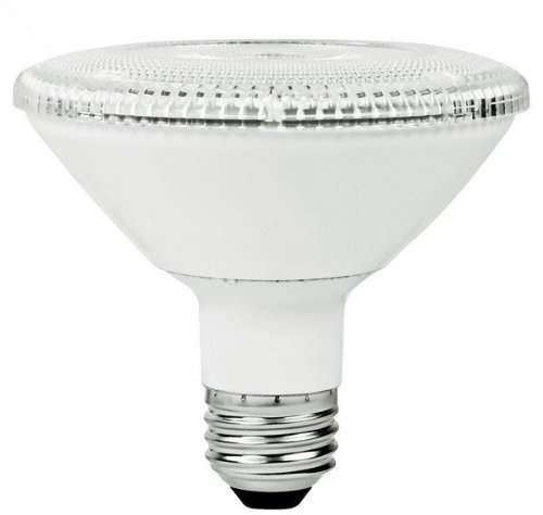 PAR30 12W Dimmable LED Bulb, Smooth, Short Neck, 5000K, 25 Degree