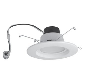 "14W 5""/6"" Recessed LED Downlight, 3000K"