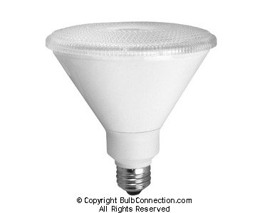 PAR38 14W Dimmable LED Bulb, Smooth, 3000K, 25 Degree