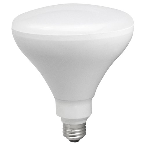 17W Dimmable Smooth Br40 LED Bulb, 3000K