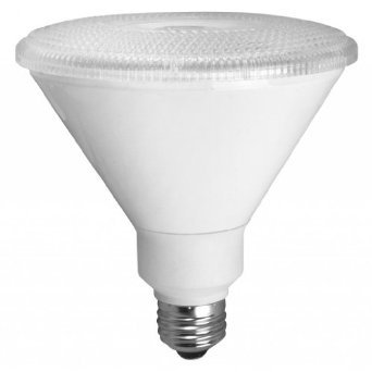 PAR38 17W Dimmable LED Bulb, Smooth, 2400K, 40 Degree