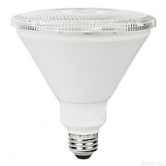 PAR38 17W Dimmable LED Bulb, Smooth, 5000K, 25 Degree