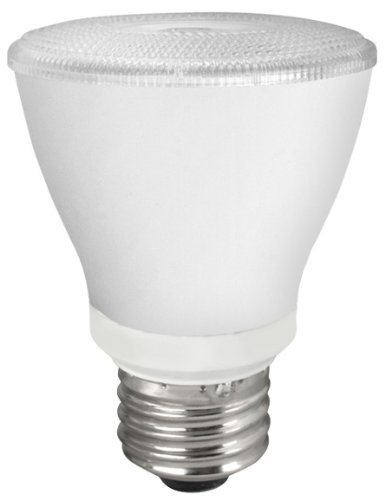 PAR20 8W Dimmable LED Bulb, Smooth, 2400K, 25 Degree