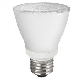 PAR20 8W Dimmable LED Bulb, Smooth, 3500K, 25 Degree