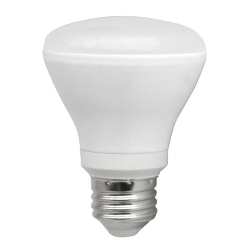 8W Dimmable Smooth R20 LED Bulb, 5000K