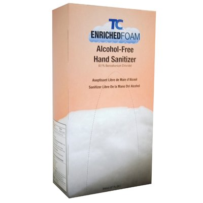 Enriched Foam Hand Sanitizers, Alcohol Free
