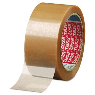 "55 yd x 2"" Polypropylene Clear Carton Sealing Tape"