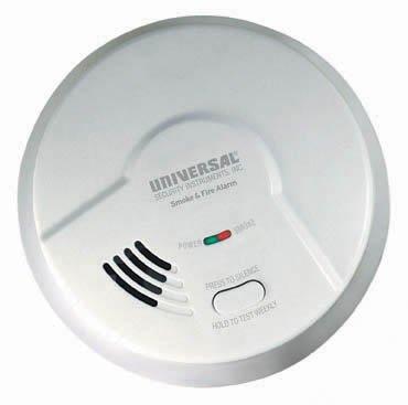 usi electric smoke detector 1204 manual