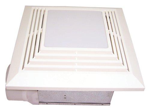 110 CFM Bath Fan with Fluorescent Light