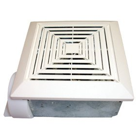 "50 CFM 3"" Duct Adaptor Bath Fan"