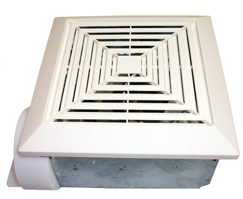 "50 CFM 4"" Duct Adaptor Bath Fan"