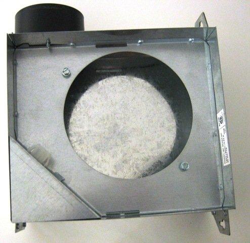 """70 CFM 4"""" Duct Adaptor Bath Fan Housings"""