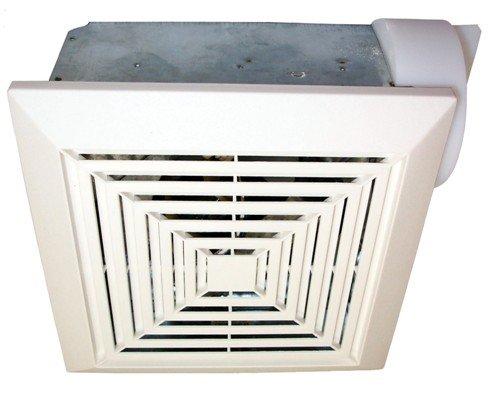 "70 CFM 4"" Duct Adaptor Bath Fan with Light"