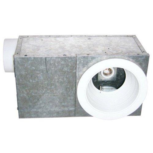 Shop Broan 3 5 Sone 70 Cfm Satin Nickel Bathroom Fan With: USI Electric BFR-704L Bath Fan With Recessed Light