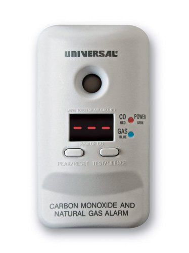 Carbon Monoxide & Natural Gas Alarm Plug-In
