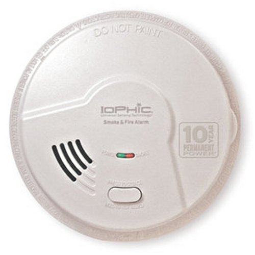2-in-1 Smoke and Fire Smart Alarm w/ Sealed Battery