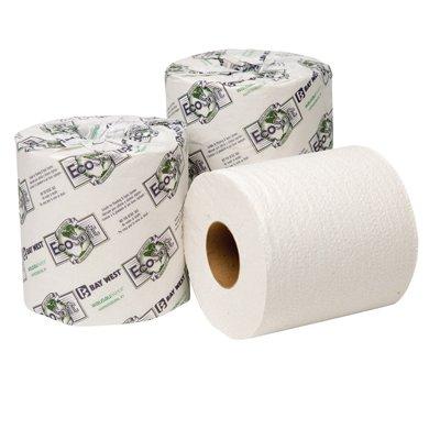 EcoSoft Universal Bathroom Tissue, 2-Ply, 500 Sheets Per Roll