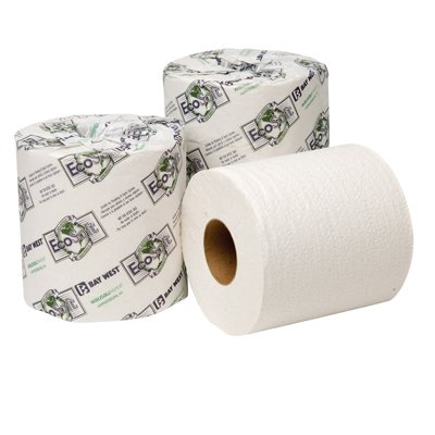 EcoSoft Universal Bathroom Tissue, 2-Ply, 500 Sheets Per Roll