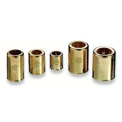 """0.656"""" x 1"""" Brass Hose Ferrules"""