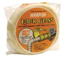 Fiberglass Pipe Insulation Wrap w/Vapor Seal