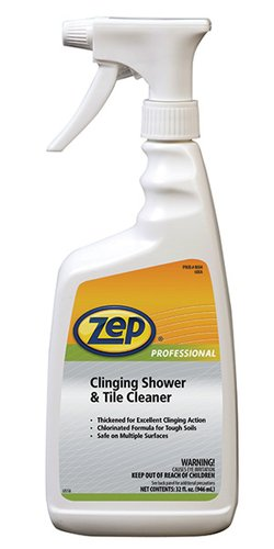 Zep Professional Clinging Citrus Tile & Shower Cleaner 32-oz
