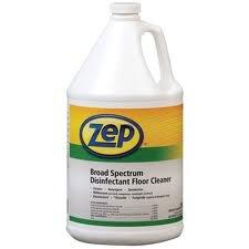 Zep Professional Broad Spectrum Floor Disinfectant 5 Gallon