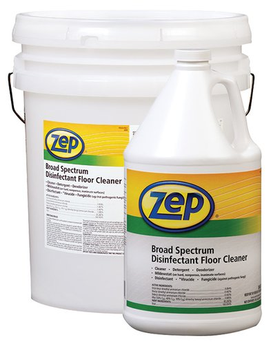 Zep Professional Broad Spectrum Disinfectant Floor Cleaner 20 Gallons