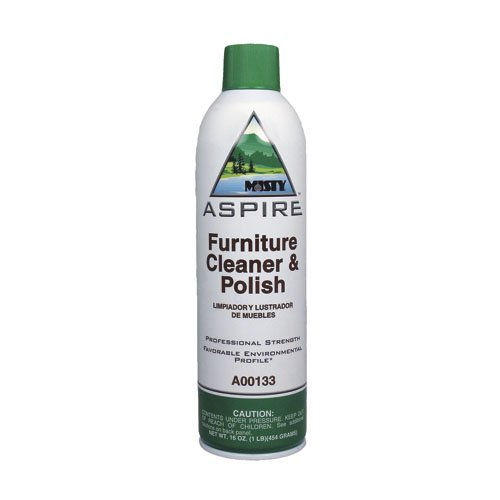 16 oz Aspire Lemon-Scented Furniture Cleaner and Polish