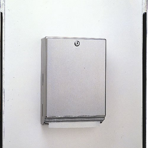 Stainless Steel C-Fold or Multifold Paper Towel Dispenser