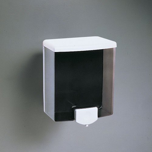 Bobrick Black And Gray Surface Mounted Liquid Soap
