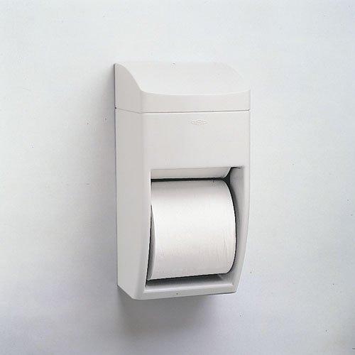 Bobrick Matrix Gray Plastic Dual Roll Toilet Paper