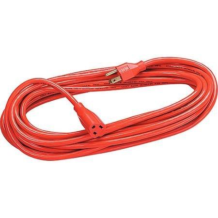 Orange Indoor/Outdoor Heavy-Duty 25 ft Extension Cord