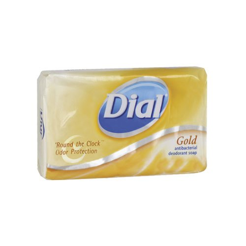 Dial Dial Individually Wrapped Gold 4 Oz Bar Soap Dial
