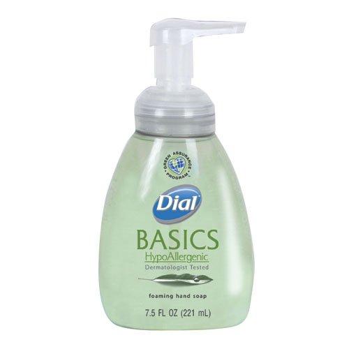 Dial Honeysuckle Basics HypoAllergenic Foaming Lotion Soap 7.5 oz.
