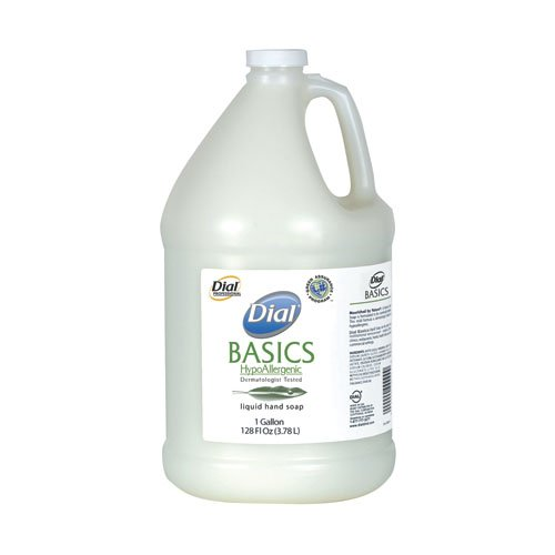 Dial Pleasant Scent Basics Liquid Soap Refill 1 Gal Bottle