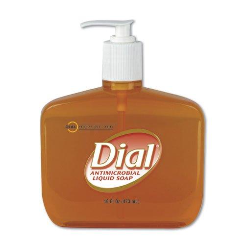 Liquid Dial Gold Antimicrobial Hand Soap 16 oz. Pump