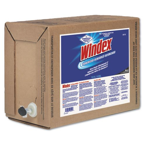 Windex Powerized Glass and Surface Cleaner 5 Gallon Bag-In-Box Dispenser