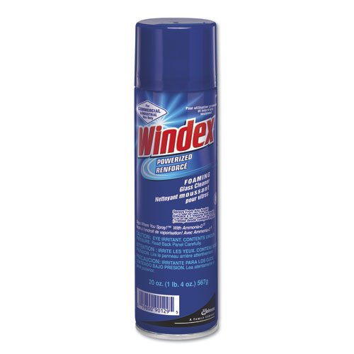 20 oz Windex Powerized Ammonia-D Glass Cleaner