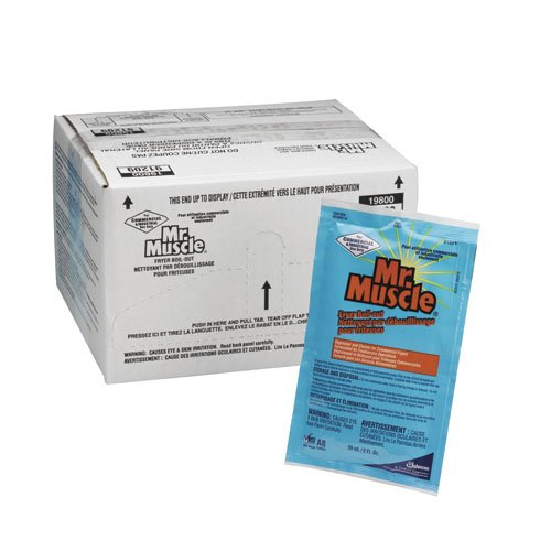 Mr. Muscle Liquid Fryer Boil-Out 2 oz Packets