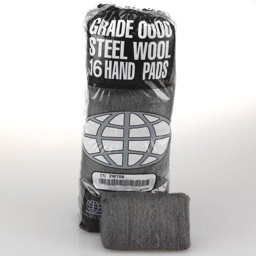 #1 Medium Grade Quality Steel Wool Hand Pads