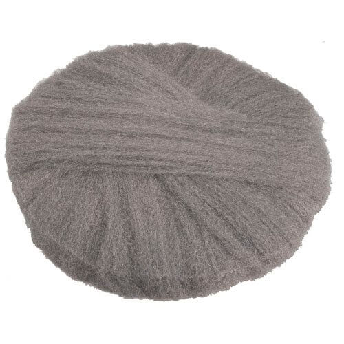 Fine Grade 18 In Radial Steel Wool Floor Pads
